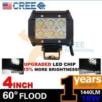 led light bar truck - 4Inch W Cree Led Work Light Bar Flood Offroad WD Driving Lamp Truck Ute Suvv