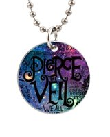 aluminum lyrics - Pierce The Veil Lyric Quote Galaxy Customized Colorful Design round Dog Tag Necklace Aluminum Tag for Animal Pets Tag