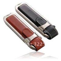 Wholesale Leather USB flash drives GB GB GB GB