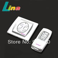 Wholesale New Convenient Wireless Channel Port V Digital Remote Control Wall Switch For Indoor