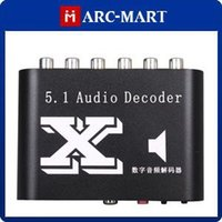 Wholesale 5 Channel DTS AC Home Theater Audio Decoder RCA Brand New ST021