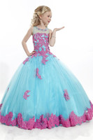angels dress - 60 Off Flower Girls Dresses Perfect Angel Ball Gown With Soft Tulle Bottom And Lace Appliques Girls Pageant Gowns