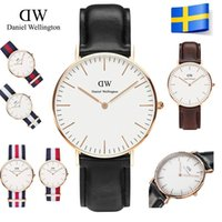 high end watches - Hot New Listing Daniel D Wellington Matte Leather Strap Men Women Watch Sports Watches Z0328 High end Quartz Watch