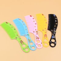 beauty supply shops - K1120 love daily household plastic comb beauty comb color comb one yuan two yuan shop supply