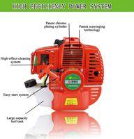 brush cutter - GERMANY HADEWO petrol motor Backpack Brush Cutter tea garden machine stroke gasoline engine cc centrifugal engine
