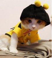 Wholesale Hot Sales clothing for Cats Dog Pet Shop gatos cat clothes roupa para gato pra cachorro cachorro shirt animals costume