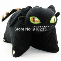 bear training - How To Train Your Dragon Toothless Night Fury Plush Cushion Pillow Stuffed Plush