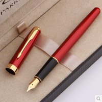 fountain pens - Fashion Design High Quality Fast Writing Fountain Pen Office Executive High Quality Ink Metal Pen