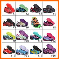 Wholesale 16 Colors New Arrival Salomon Running shoes Women Sport Running Shoes Women Sneakers