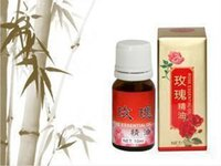 Wholesale 10pcs Rose essential oil pure essential oil anti wrinkle moisturizing adjust massage