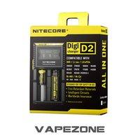 Wholesale Nitecore D2 Charger E cigarettes Battery Charger Nitecore Digi D2 Charger with Digital display fit