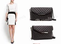 fashion handbag wholesale - Women Messenger Diamond Lattice Shoulder Bags Crossbody Chain Handbag Designer PU Bag Handbags Fashion Brand Free DHL Factory Direct