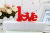 Wholesale NEW ARRIVAL CREATIVE LOVE CANDLE WORDS CANDLE ROMANTIC CANDLE