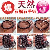 beaded jewelry manufacturers - Factory Manufacturers AB grade natural garnet bracelet variety of garnet jewelry EC goods quality Valentine s Day Gif