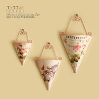 act pots - European pastoral wrought iron triangle planter adornment wall act the role ofing flower pot hanging shelf sitting room wall