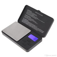 Wholesale Electronic Scales g g Digital Portable Scale New LCD Display Backlight Jewelry Gold Diamond Carat Balance