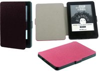 Wholesale PU Leather case for new kindle inch side open protective cover Case ultra slim for new kindle free shiipping