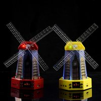 Wholesale Muti function Windmill Shaped Bluetooth Speaker with Flash Light for Mobile IPod Laptop MP3 HY BT2014