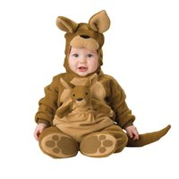 baby kangaroo costume - Baby Infant kangaroo Costume lovely Children Cosplay cartoon animals Halloween Xmas party Character Costumes Baby s kangaroo Costume CY3044