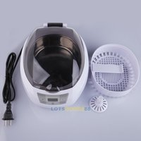 Wholesale LS4G ml Digital Ultrasonic Cleaner Glasses Watch Jewelry VCD Cleaning Machine