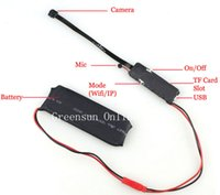 ¡Venta! Mini Wifi P2P IP cámara espía inalámbrica micro vigilancia cámara DIY para iPhone Android PC