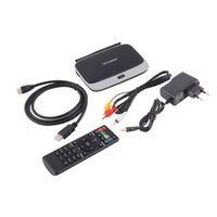 Wholesale 2GB GB Android TV Box P Media Player Smart TV Quad Core Android WiFi Mini PC XBMC Fully Loaded