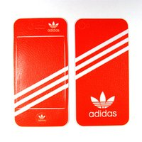 Wholesale Sports Color Skin Sticker for iphone s Retail Packing Stock Clearance