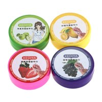 cosmetic pads - 1PC Milk Fruit Flavor Wash Cotton Speed cleaning Nail Tools Cosmetics Oil Nail Polish Remover H12951