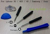 Wholesale 500 set Repair Opening Tool Kit With Point Star Pentalobe Torx Screwdriver iPhone Samsung Retail bags