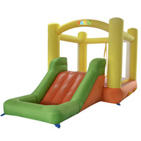 ball pit house - YARD home use nylon inflatable boouncer jumper bounce house bouncy castle slide ball pit with blower