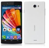 Teléfonos Android originales iocean X7 teléfono móvil MTK6582 Quad Core teléfono inteligente 5.0Inch IPS pantalla HD de 8.0 megapíxeles 1.3GHz Android4.2 3G LY