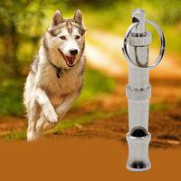 Wholesale 1 set High Quality Metal Dog Puppy Whistle Ultrasonic Adjustable Sound Key Training ZH346