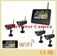 Wholesale In door Remote Home Surveillance System CCTV cameras LCD monitor video recorder