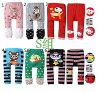 Wholesale NEW Arrival legging baby boys girls PP Pants toursers Long Trousers Cartoon Legging Cotton infant toddler Boys Girls Wear HOT Sale LC078