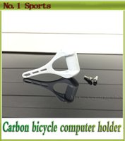 Wholesale Road bike computer holder carbon bicycle handlebar mount bike computer holder rack glossy matte available