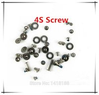 Wholesale NEW OEM Complete Replacement Repair Screws Complete Set For iPhone G