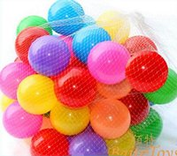 Wholesale 2015 Fashion New cm Multicolor Ocean color ball software ball Ball Toys and drop shipping