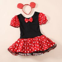 minnie mouse dress - Frozen Elsa Halloween Minnie Mouse Girls child children Party Christmas Costume Ballet Tutu Dress Y Kids GD01