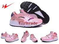 aloha art - 2016 Hot Sale DropShipping Cheap Famous Air Huarache Print Aloha Pack Womens Athletic Sneakers Sports Running Shoes Size