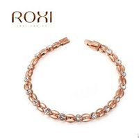 wheat quality - Valentines Day Gifts for Women High Quality Wheat Rose Gold Bracelets Ladies Fashion Diamond Bracelets for Women Jewelry DHgate m