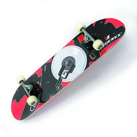 Wholesale Joerex quot Plywood Skateboard Deck Long board Four Skateboard Wheels Shape Skate for Board Fans