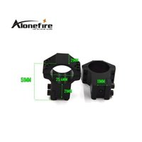 Wholesale Alonefire GZ M mm Ring mm Dovetail Rail Mount High Profile Rifle Scope Mounts Hunting Accessories pair