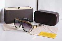 al por mayor gafas de sol para hombre para la venta-nuevas gafas de marca de alta calidad vidrios de sol negros ventas calientes gafas de sol para hombre para mujer gafas de sol Lentes de sol de marca glitter2009