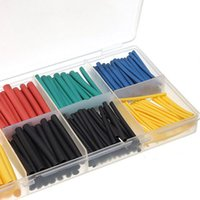 Wholesale Assortment Ratio Heat Shrink Tubing Tube Sleeving Wrap Kit with Box Colorful