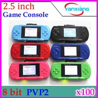 2.5 inch console - 2 inch color LCD Games player PVP Station Bit Handheld game consoles Game card YX PV