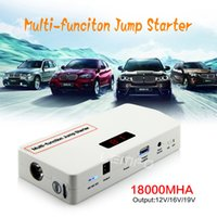 Wholesale Power Bank Jump Starter Battery Emergency Heavy Duty mAh High Capacity Multi function V AUTO Emergency State Power With Light Torch