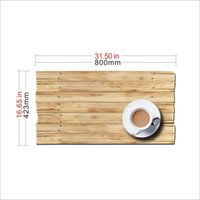 Cheap 3d coffee on board desktop table top stickers wall decals home office decoration