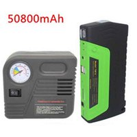 audi bank - Green Super Function Mobile Auto emergency power Power Bank mAh Car power jump starter Air pump Safety Hammer usb