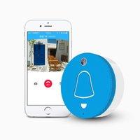 Wholesale Wifi Smart Doorbell Home Security HD P IP Cam Voice Intercom Door Camera for Android IOS System