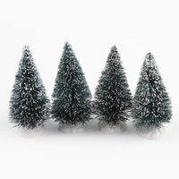 pine tree - New Arrival Christmas Tree A Small Pine Tree Placed In The Desktop Mini Christmas Tree Drop Shipping Xmas